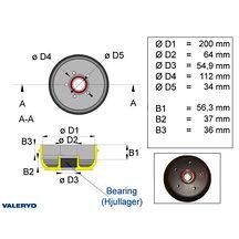 Bromstrumma 200x50 Euro compakt 5x112