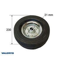 Stödhjulshjul 230*70 hål diam. 21 mm