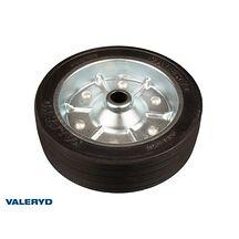 Stödhjulshjul 215x65 mm, med stålfälg Fullgummihjul. 21mm