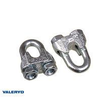 Wirelås 5mm galvaniserad (2-pack)