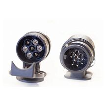 Stickpropp Adapter Släpvagn Från 13 Pol (På Bil) Till 7 Pol (På Släp)