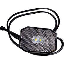 LED Positionsljus Valeryd 65x42x30 vit 12-30V inkl. 450mm kabel