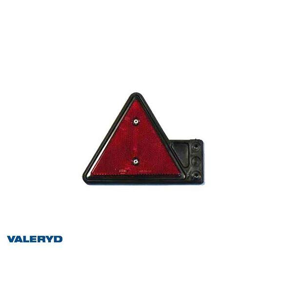 VALERYD Triangelreflex 155x136 med gummifäste Vänster