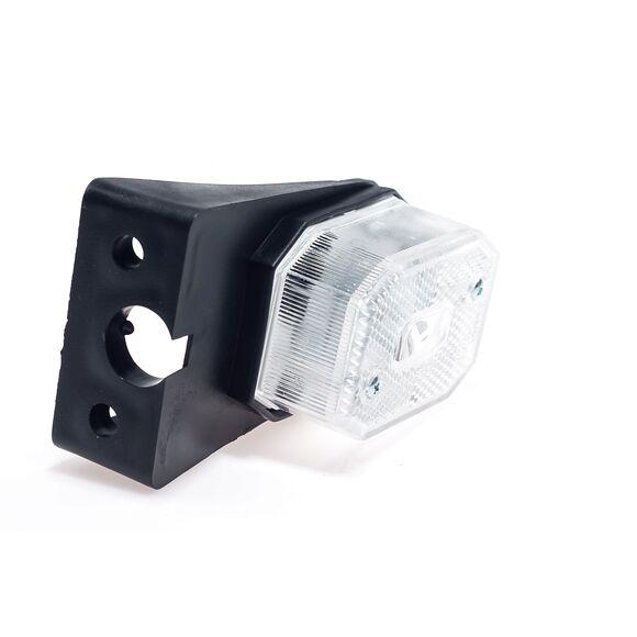 VALERYD Positionsljus Hö/Vä passar till Aspöck Flexipoint L65xB44xH25 med fäste